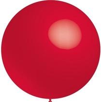 Rode Reuze Ballon 60cm