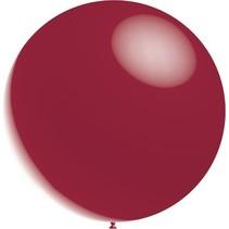 Bordeaux Rode Reuze Ballon Metallic 60cm