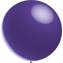 Paarse Reuze Ballon Metallic 60cm