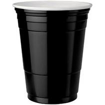Black Cups 473ml 25 stuks