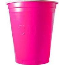 Pink Cups 473ml 25 stuks