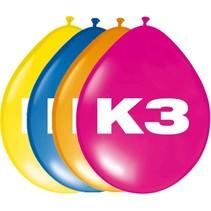 K3 Ballonnen 30cm 8 stuks