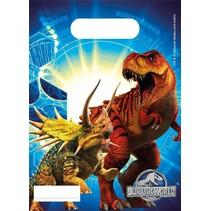 Jurassic World Uitdeelzakjes 6 stuks