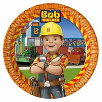 Bob de Bouwer Borden 23cm 8 stuks