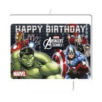Avengers Kaars Happy Birthday