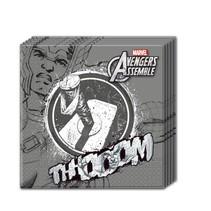 Avengers Servetten Thor 20 stuks