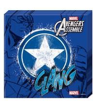 Avengers Servetten Captain America 20 stuks