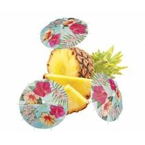 Hawaii Cocktailprikkers Parasol Paradise 18cm 6 stuks