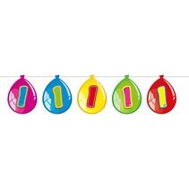 Slingers 1 Jaar Ballonnen 10 meter