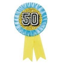 Rozet 50 Jaar Glitter