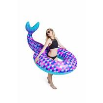 Opblaas Zeemeermin Staart Zwemband 1,5 meter