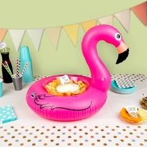 Opblaas Flamingo Serveerring 50cm