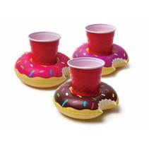 Opblaas Donut Bekerhouders 3 stuks