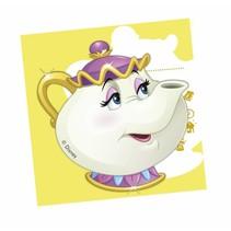 Belle en het Beest Uitnodigingen 6 stuks