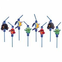 Angry Birds Rietjes 8 stuks