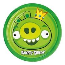 Angry Birds Gebaksbordjes Versiering 18cm 8 stuks