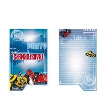 Transformers RID Uitnodigingen 8 stuks