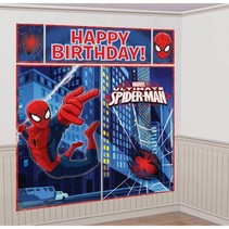 Spiderman Wanddecoratie 5 delig