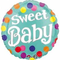 Helium Ballon Sweet Baby 43cm leeg