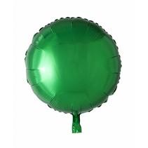 Helium Ballon Rond Groen 46cm leeg