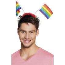 Regenboog Haarband