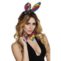 Bunny Set Regenboog
