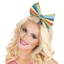Regenboog Haarband Strik