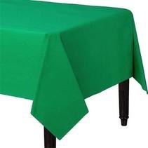 Groen Tafelkleed Plastic 274x137cm