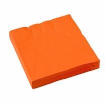 Oranje Servetten 33x33cm 20 stuks