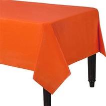 Oranje Tafelkleed Plastic 274x137cm