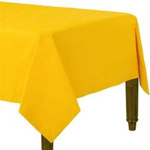 Geel Tafelkleed 274x137cm