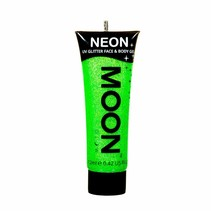 Body Paint Groen Glitter Neon UV 12ml