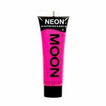 Body Paint Fuchsia Glitter Neon UV 12ml