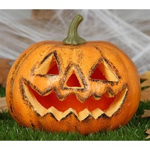 Halloween Pompoen 19cm