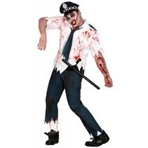 Halloween Kostuum Politiepak