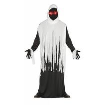 Halloween Kostuum Geest met verlichte ogen M/L
