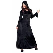 Halloween Kostuum Dames Vampier Zwart
