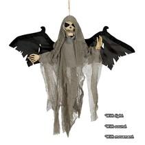 Halloween Pop Vleugels met licht, geluid en beweging 45cm