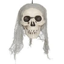 Halloween Hangdecoratie Schedel 20cm