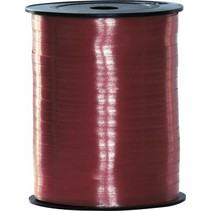 Bordeaux Rood Lint 500 meter x 5mm