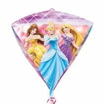 Disney Prinsessen Helium Ballon Diamant 43cm leeg