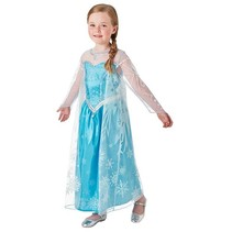 Elsa Frozen Jurk Kind Deluxe™