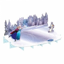 Frozen Etagere Ice Skating 50x27cm