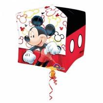 Mickey Mouse Helium Ballon Kubus 38cm leeg