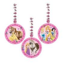 Disney Prinsessen Hangdecoratie Dieren 70cm 3 stuks