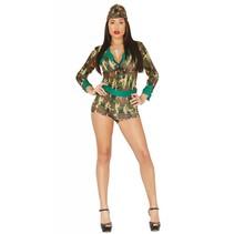 Leger Kostuum Dames Soldaat