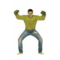 Superheld Kostuum Groen Monster