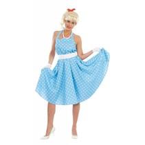 Grease Kostuum Blauw 50's Dames