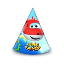 Super Wings Hoedjes 6 stuks