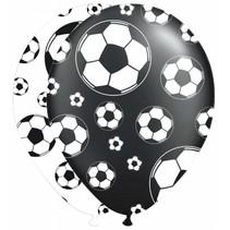 Voetbal Ballonnen 30cm 8 stuks